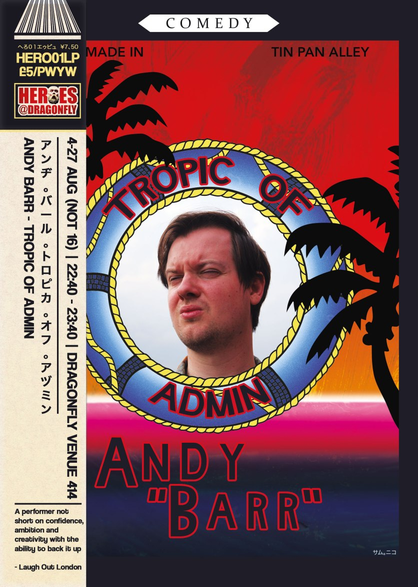 Andy Barr - Tropic of Admin - 2017